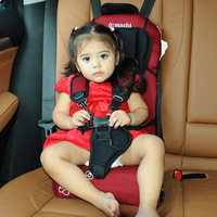 Multi function Child Car Safety Seat Portable Baby Dining Chair Booster Seat Increase Mat Quality Material 0 6 Years Old