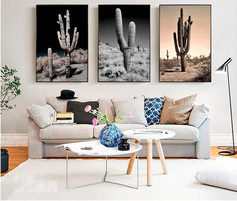 new nordic cactus del desierto de imgenes art prints poster pared foto lienzo de pintura sin