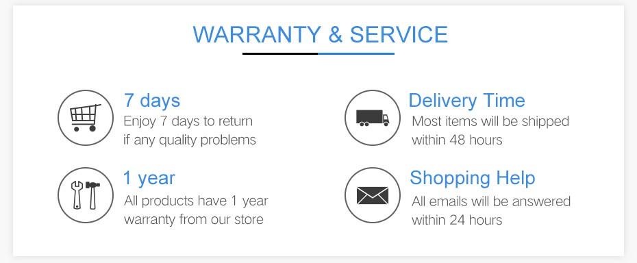 warranty&service