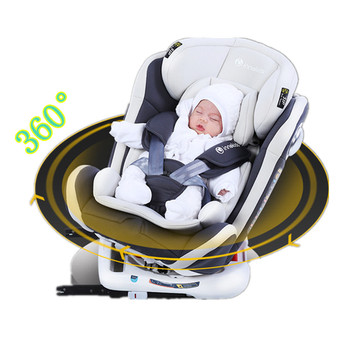 цена на 360 rotate child car seat steel frame with ISOFIX interface car safety seats for 0-3 years old baby ECE and 3C certification