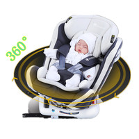 360 rotate child car seat steel frame with ISOFIX interface car safety seats for 0 3 years old baby ECE and 3C certification