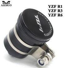 лучшая цена Motorcycle Oil Fluid Cup Fluid Reservoir Cup FOR YAMAHA YZF R1 1999-2003 YZF R3 2015-2017 YZF R6 2005-2016 With