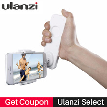 Ulanzi 2-axis Handheld smartphone Gimbal Stabilizer Holder Stand Bluetooth Video Handle Grip for wedding for iPhone 8 7 Samsung