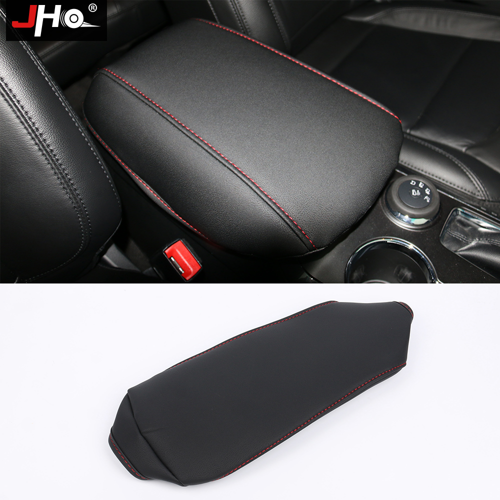 Jho leatherette car central armrest box cover protector - 2013 ford explorer interior parts ...