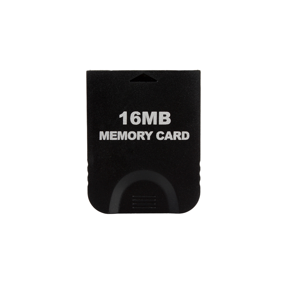 2PCS/LOT 16MB Black game GC Memory Card (251 Blocks) for Gamecube & Wii Console System Storage GC for Nintendo