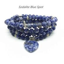 Beadztalk 73 см женский браслет эластичный mala ожерелье для