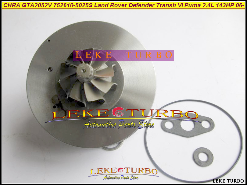 Turbo Cartridge CHRA Core GT2052 752610-5032S 752610-5009S 752610 For Ford Transit 6 For Land Rover Defender DuraTorq V348 2.4L цены