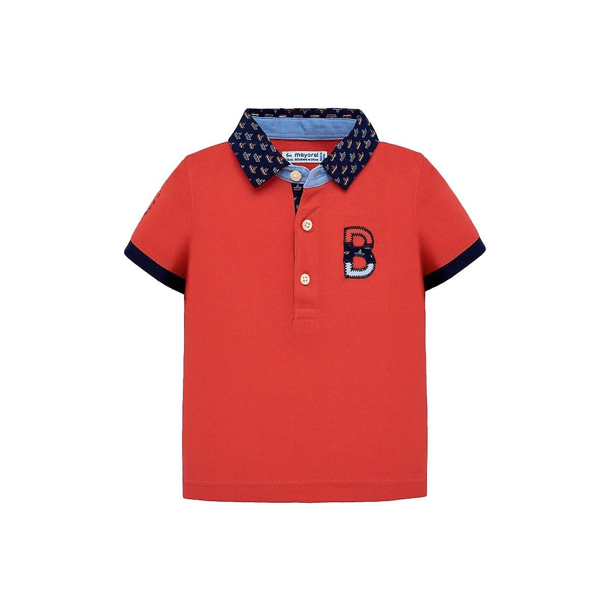 MAYORAL Polo Shirts 10681439 Children Clothing T-shirt Shirt The Print For Boys