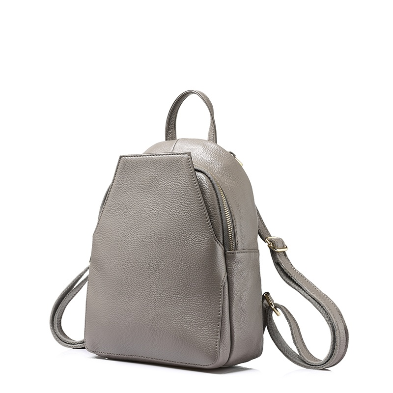 Caker fashion women backpack female genuine leather backpacks for girls teenagers schoolbag small backpack ladies shoulder bag
