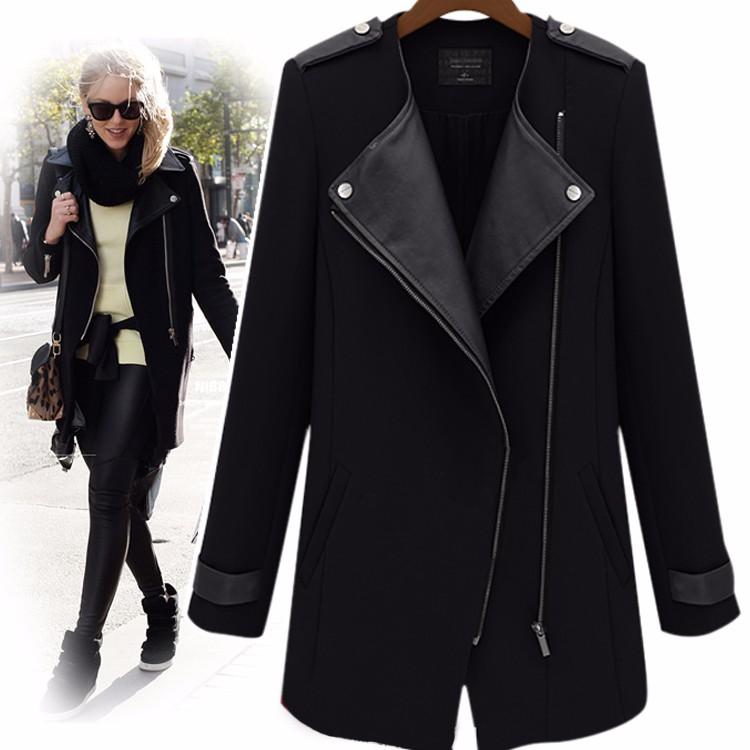 European-style-new-2015-women-autumn-winter-fashion-Cashmere-cardigan-coat-medium-long-female-trench-outerwear