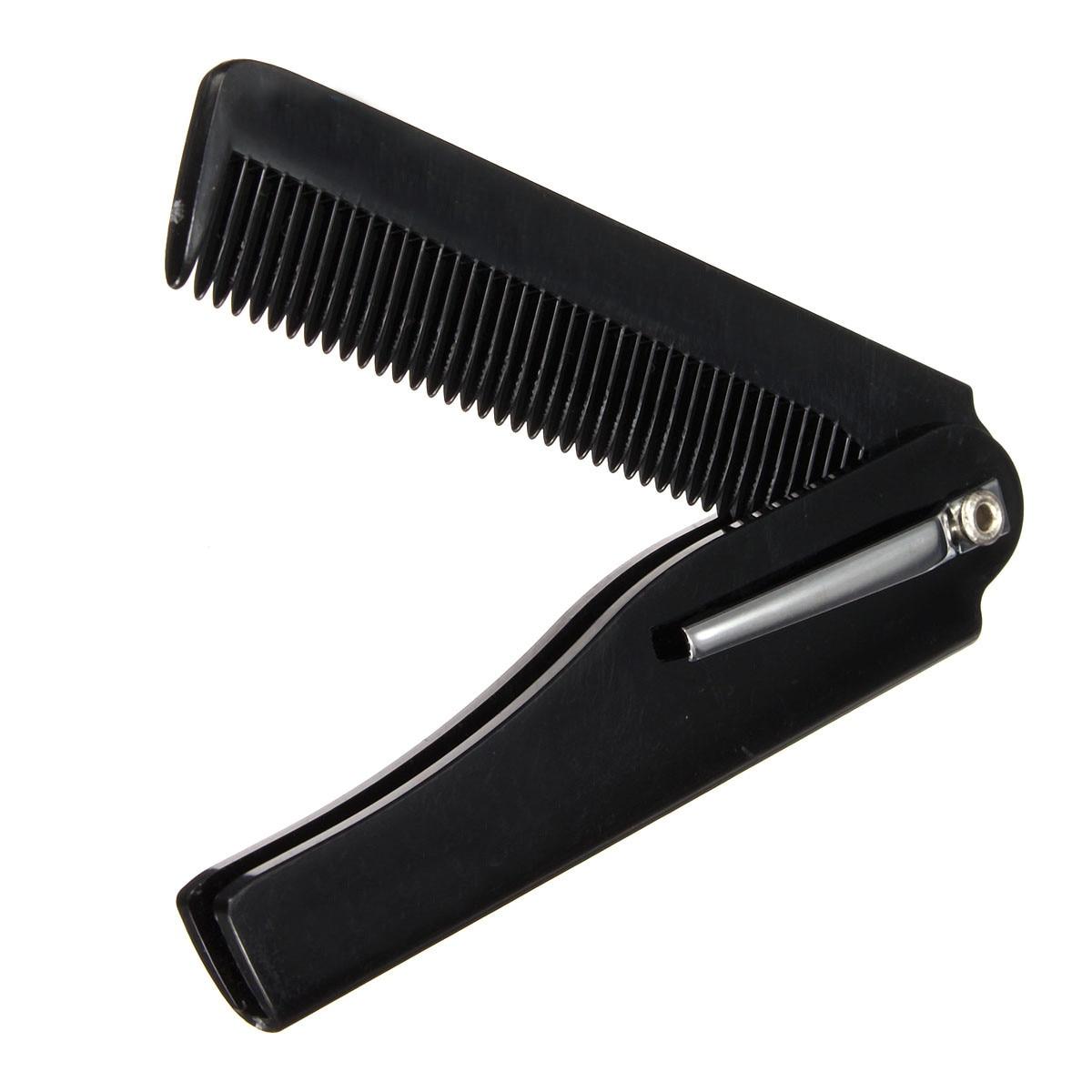Moustache & Beard Comb Hair Beauty Folding Hand Made Tools For Men Women