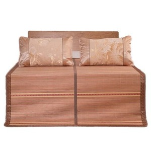 Image 2 - 100 natural bamboo mats, summer gives you a cool feeling  folding wrapping 0.9/1.2/1.5/1.8 /2 m bamboo mat