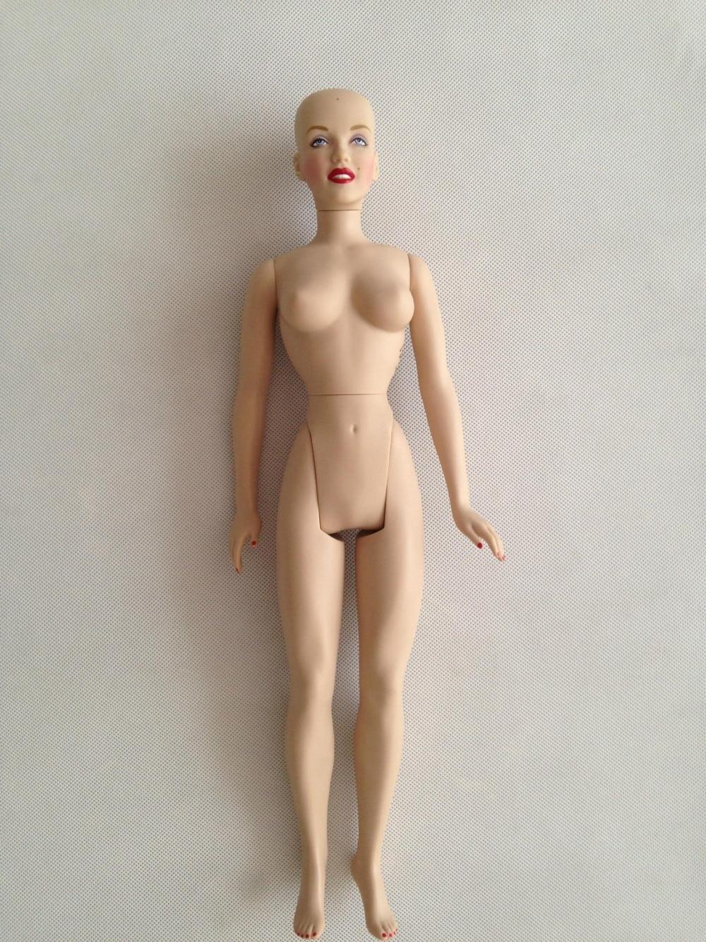 40CM Free Shipping Anthropomorphic Dummy Marilyn Monroe Dolls Doll Naked Body For DIY Franklin Doll Doll