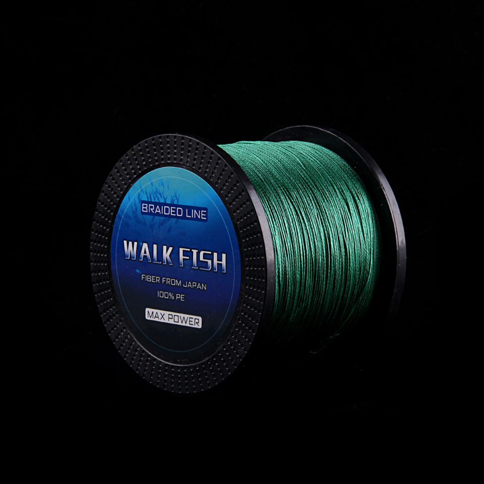 WALK FISH Brand 500M 8 Strand Japan PE Braid Fishing Line Rope Super Strong Smoother 100% PE Multifilament Fishing Wire 13-242LB все цены