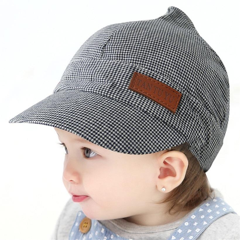 71022844de972 Baseball Caps Baby Hats Children infant gorras head beanies bebes kids  Steeple Cap Photograph Prop NewBorn Baby 2017 New Arrival-in Hats   Caps  from Mother ...