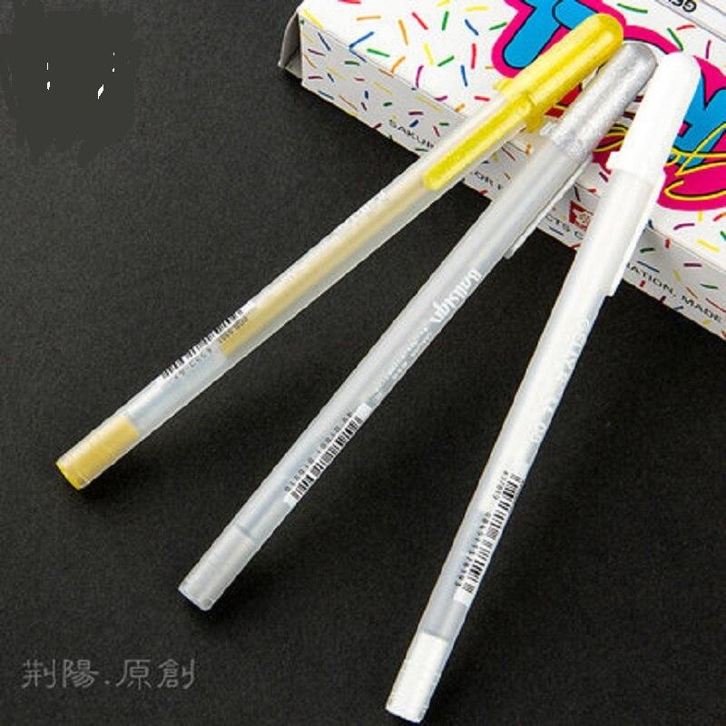 Japanese SAKURA highlight pen hand-painted art painting pen 10pcs/lot