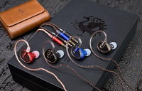 SIMGOT EN700 BASS Composite Titanium Plated Diaphragm HiFi Monitor DJ In Ear Earphone IEMs Metal Earbuds