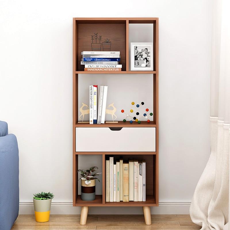 LK1679 Nordic книжный шкаф пол книжная полка современный минималистский Ящики для гостиной стойки офисная стойки Мода стороны шкаф для продажи