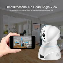 лучшая цена 826 Wireless 2.4G WIFI Security Camera Infrared Night Vision IR-CUT Switch Motion Detection H.264 Video Compression
