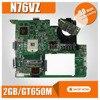 עם 2GB וידאו כרטיס GT740M/GT650 N76VZ האם עבור For Asus N76VZ N76VM N76VJ N76VB מחשב נייד Mainboard N76VZ האם מבחן בסדר