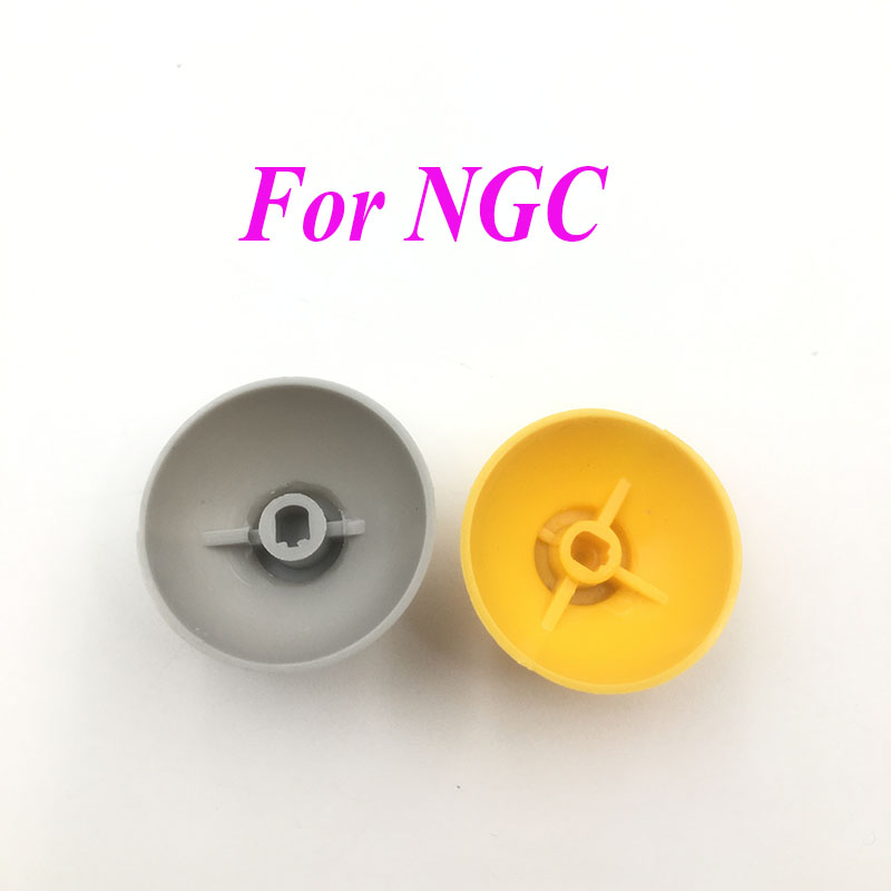 500PCS Replacement For Nintendo Game Cube Left Right Thumbstick Thumb stick Cap for NGC Controller Button