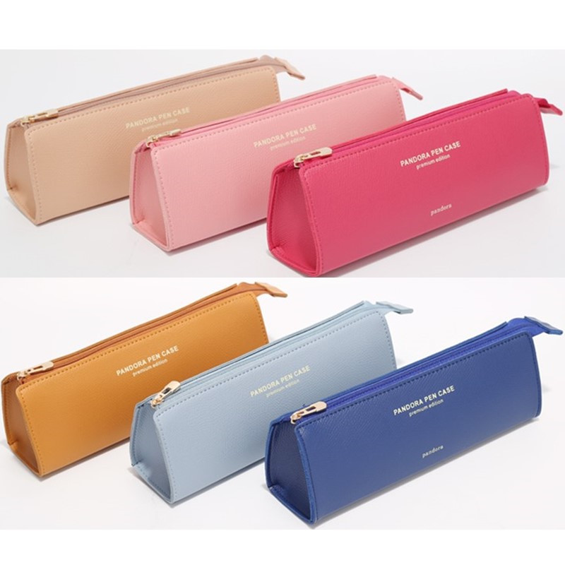 Kawaii Pencil Bag For School Students Pencil Case Lovely Stationary Bag Eraser Organizer Cosmetic Bag Pen Case Gift Pouch