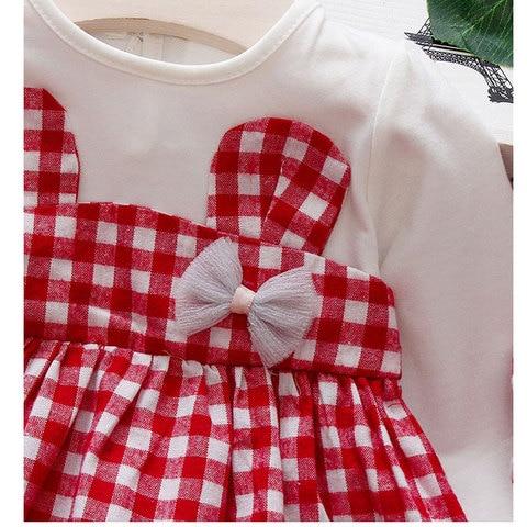 Spring Baby girls clothes overalls dress Headband for newborn babies 1st birthday baby dresses girls long sleeve clothing dress Islamabad