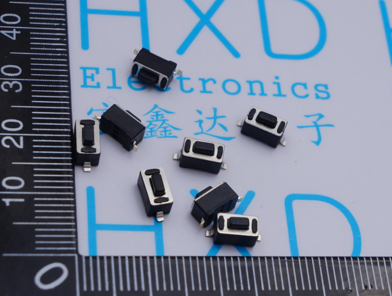 400pcs Micro Switch 3*6*4.3mm 2pin button switch microswitch Vertical black no lock Reset switch Remote control switch 6 6 3 1mm smd5 black push button switch 6x6x3 1 touch micro switch 100pcs