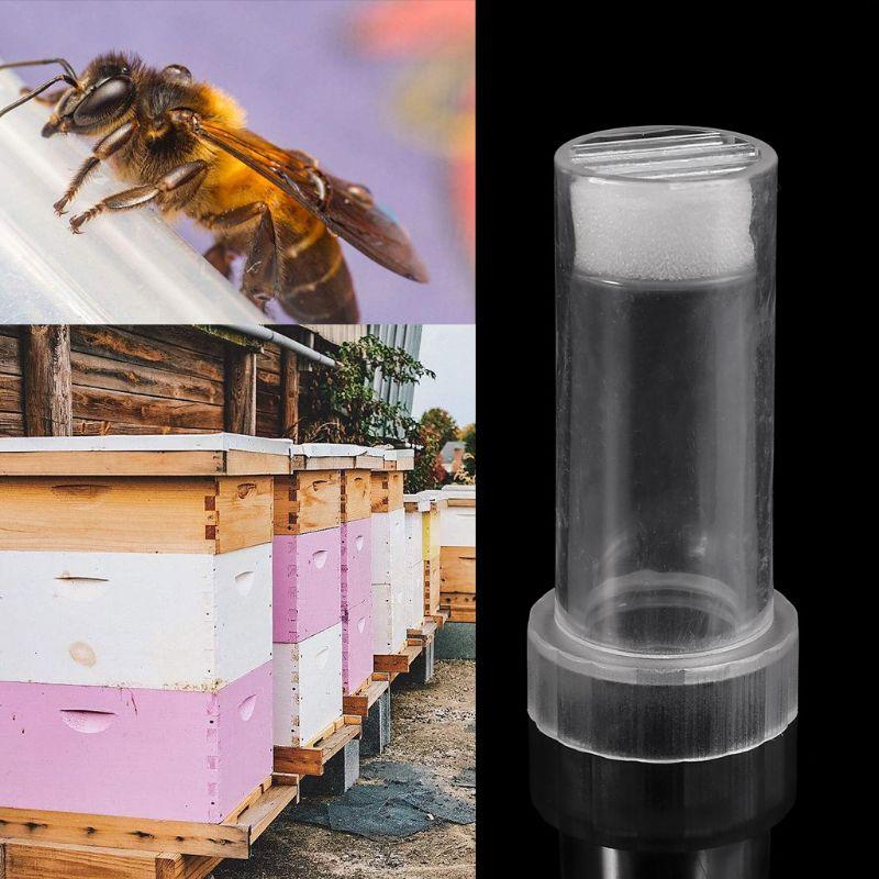 Image 2 - Beekeeper Bee Queen Marking Cage Marker Bottle Kits Plunger Beekeeping Tools Set Equipment-in Beekeeping Tools from Home & Garden