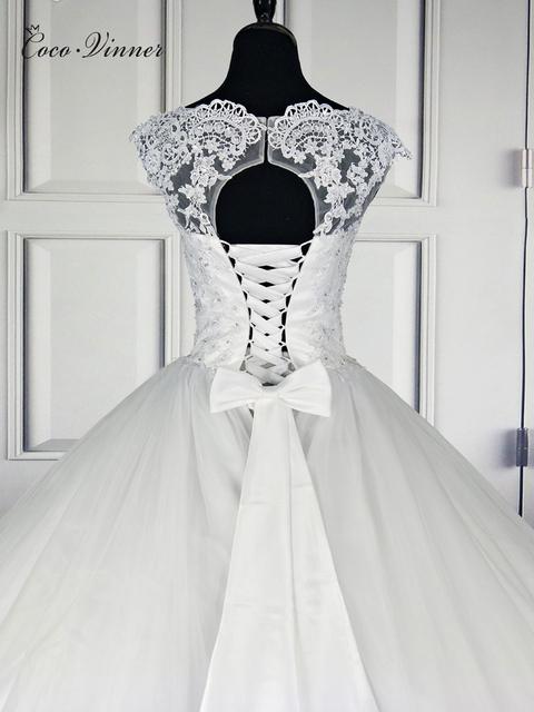 Backless Short Cap Sleeve Bohemian Wedding Dresses Plus Size Custom-Made A-Line Wedding Dress W0016