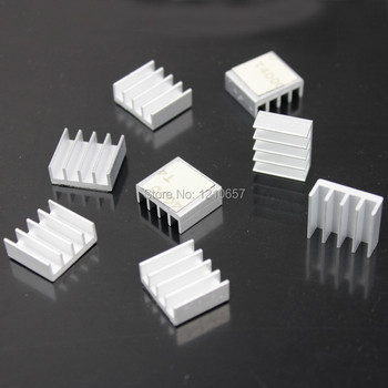 1600PCS lot Wholesale RHS-02 15 x 13 x 6mm Silver Memory Heat Sink Cooling Ram Aluminum Heatsink DDR DDR2 DDR3