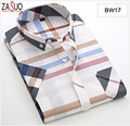 Hot Selling ! Men's Dress Shirts Square Collar  Men's Plaid Short Sleeved  Shirt Trend Silm Men Business Casual Clothes