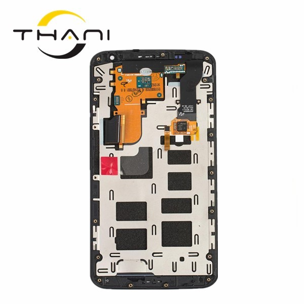 цена на Thani LCD Screen For Motorola Moto Nexus 6 XT1100 XT1103 LCD Display Touch Screen With Frame Digitizer Assembly free shipping
