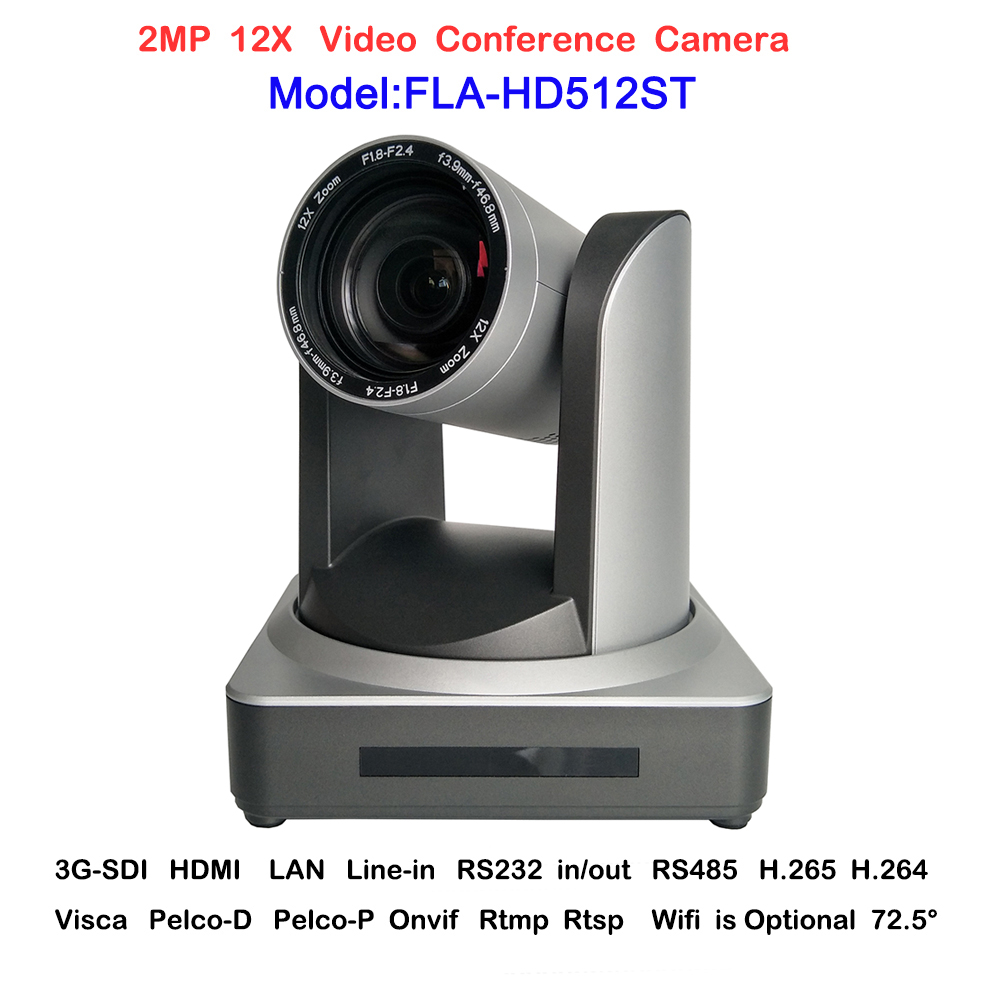 2018 New HD-Full 2MP Wide angle 12X Zoom Teaching Communication Video Conference IP Camera Onvif with HDMI SDI LAN Interface 2mp hdmi full hd broadcast 12x zoom ptz video conference camera audio with ip usb2 0 usb3 0 interface