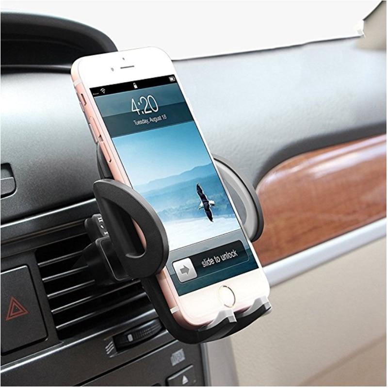 Universal celular suporte de montagem do carro ar ventilação suporte do telefone móvel para o iphone xr 11x6 s 7 8 samsung s9 xiaomi acessórios