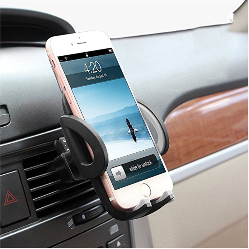Common Cellphone Stand Mount Automobile Air Vent Cell Telephone Holder For Iphone X 6 7 eight 8Plus Samsung S9 Xiaomi Equipment Assist