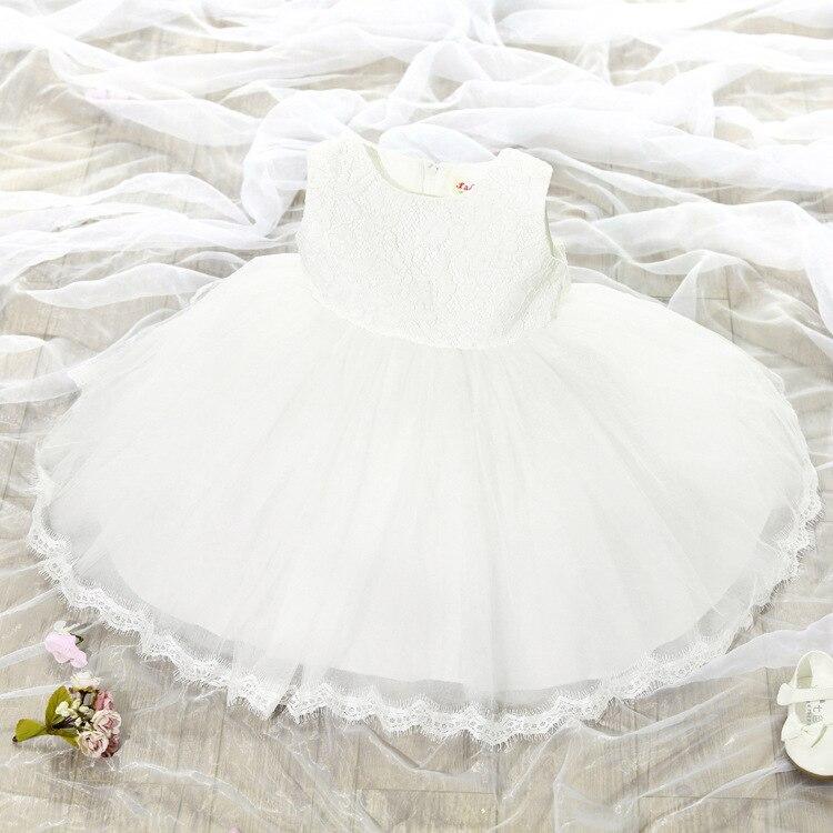 235363def 2 8Y toddler Girl birthday Dress Girls pink white Flower Lace Big ...