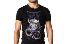 Danzig Il Demonio Nera 2005 Album Cover T-Shirt Short Sleeves Cotton T Shirt Free Shipping TOP TEE Print T Shirts Men(China)