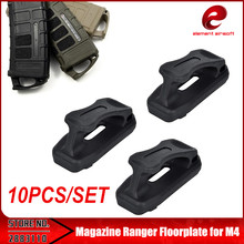 element airsoft 10PCS/PACK MAG PUL Magazine Ranger Floorplate 45x5.56 for Airsoft M4