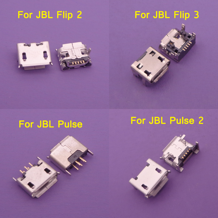 4models 4pcs For <font><b>JBL</b></font> FLIP <font><b>3</b></font> 2 Pulse 2 Bluetooth <font><b>Speaker</b></font> Micro USB Jack Dock <font><b>Charging</b></font> Port Charger Connector <font><b>Repair</b></font> parts image