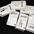10 Pcs/Lot Noosy Nano SIM Card Adapter 4 in 1 Micro SIM Adapter with Eject Pin Key Retail Package for iPhone 5/5S/6/6S/Samsung