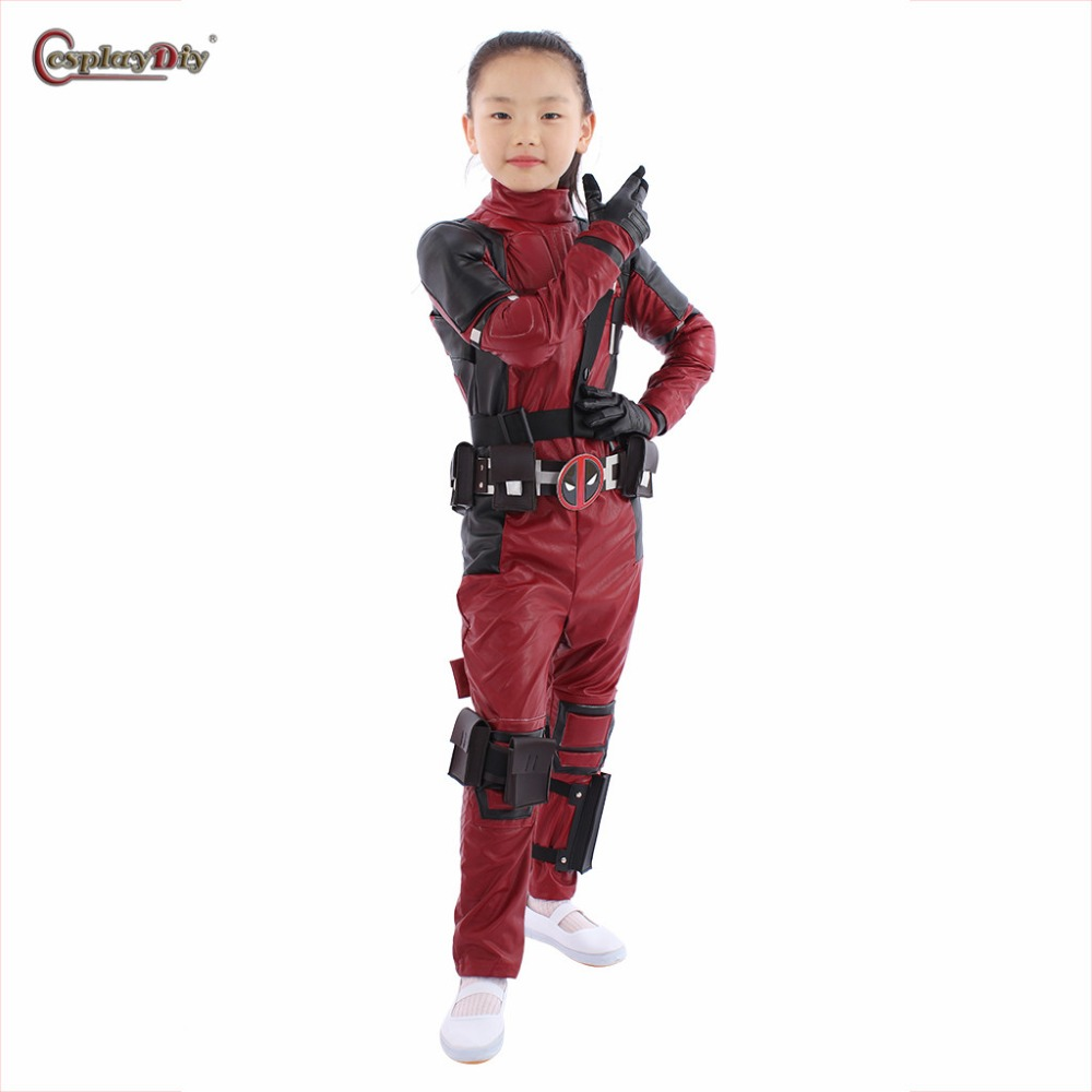 Children Deadpool Costume Halloween Costume Kids Boys Girls Party Cosplay Disfraces Carnival Toddler Clothing Set Custom Made