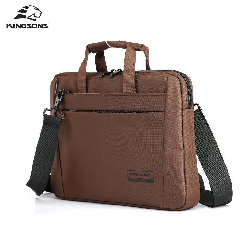 Kingsons  12.1,13.3 Inch Handbags Notebook Totes Laptop Bag Unisex Briefcase Shoulder Messenger Bags Women Man Business Handbag