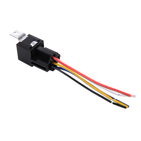 1 Piece 12V 30/40 A 5 Pin 5P Automotive Harness New Arrival High-quality Car Auto Relay Socket 5 Wire Islamabad