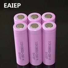 6 шт. 100% оригинальный литий-ионный ICR 18650-26F 3,7 в 2600 мАч 18650 литиевая аккумуляторная батарея для аккумулятор