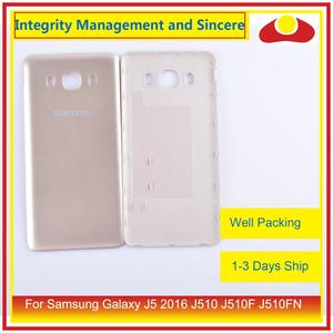 Image 4 - 50 pçs/lote Para Samsung Galaxy J5 2016 J510 J510F J510FN J510H J510G Porta Traseira Da Bateria Habitação Capa Case Chassis Shell