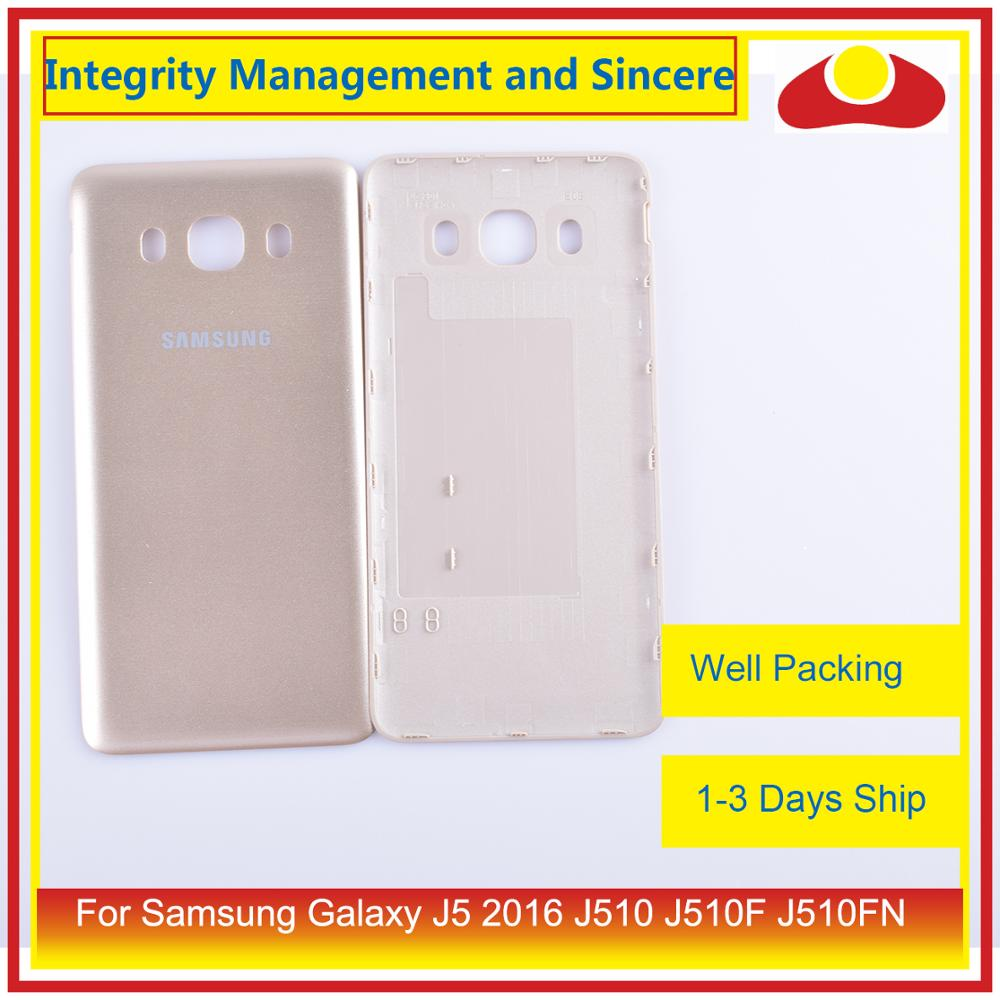 Image 4 - Original For Samsung Galaxy J5 2016 J510 J510F J510FN J510H J510G Housing Battery Door Rear Back Cover Case Chassis Shell-in Mobile Phone Housings & Frames from Cellphones & Telecommunications