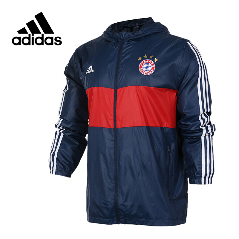 Original New Arrival Official Adidas Men's Windproof Woven Jacket Hooded Sportswear adidas original new arrival official men s windproof woven jacket hooded sportswear bs0119