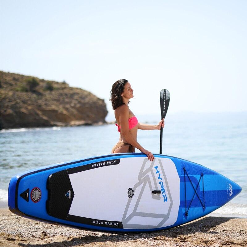 350*79*15 cm AQUA MARINA 2019 HYPER gonflable sup stand up paddle board gonflable planche de surf planche de surf course rapide d'eau