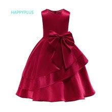 HAPPYPLUS zarif elbiseler kızlar için 3 4 5 6 7 8 9 10 yıl çocuklar çiçek elbise akşam parti noel kostüm kızlar yeni yıl